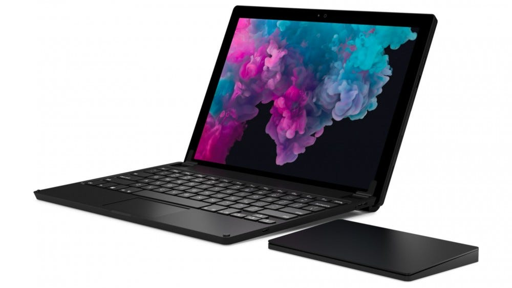Brydge Surface Go and W-Touch touchpad