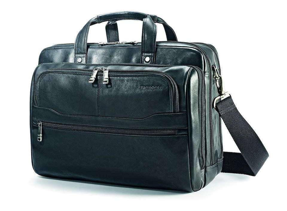 Samsonite leather attache