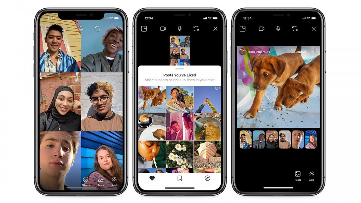 Instagram's new Co-Watching feature lets you view Instagram posts with your friends over video chat.