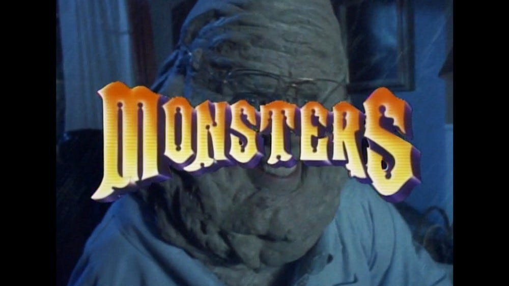 A screenshot of the Monsters introduction.