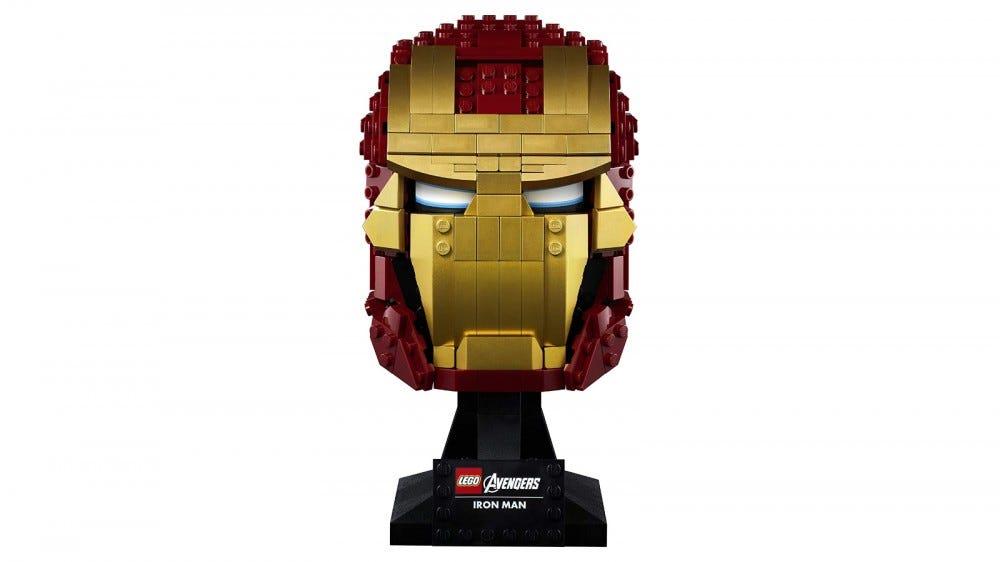 LEGO Marvel Iron Man sisak készlet