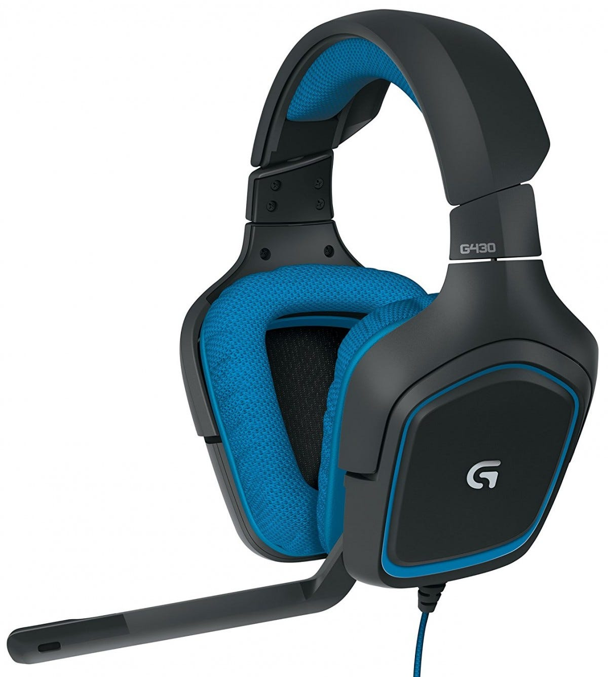 logitech, pc gaming, pc headset, g430, surround sound,