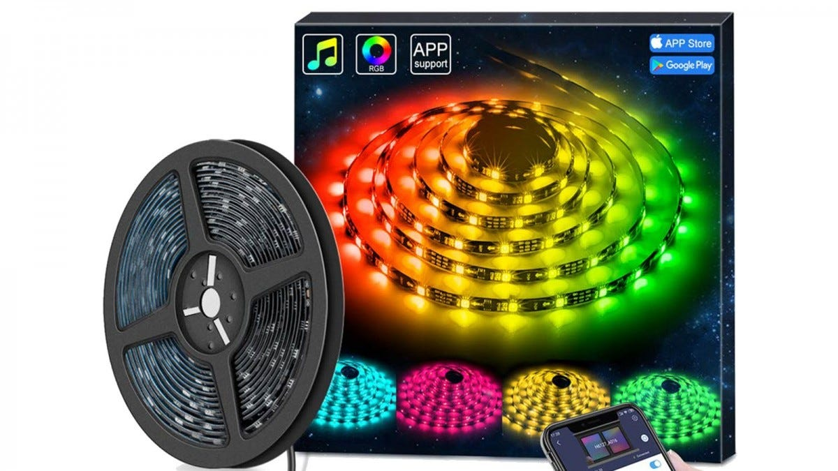 A MINGER Led Light Strip with box.