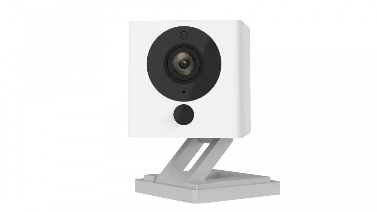 A photo of the Wyze smart camera.