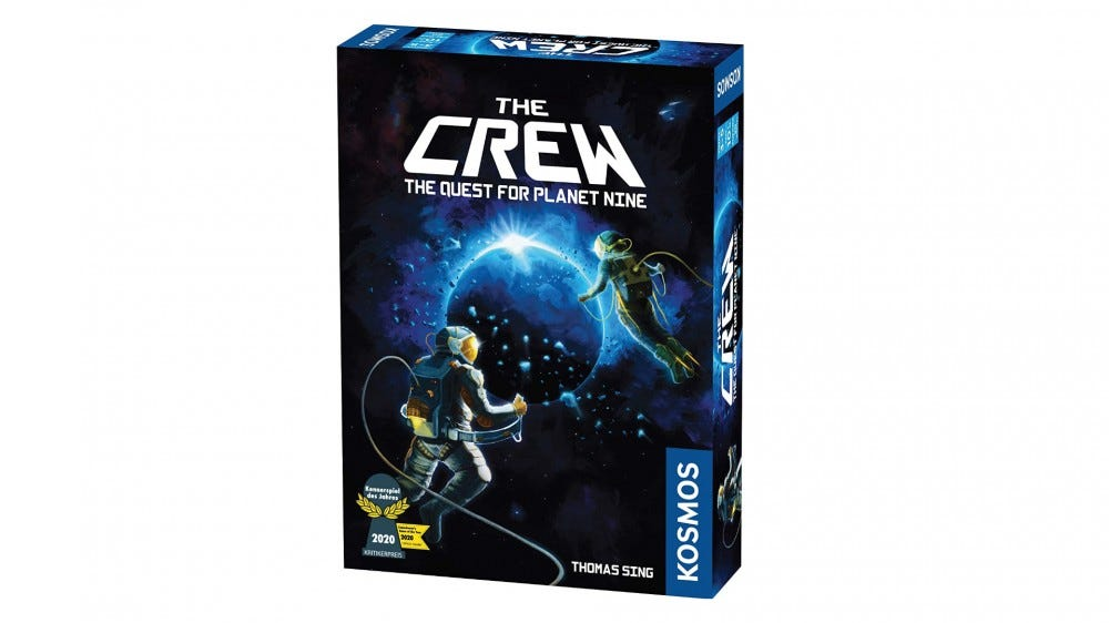 The Crew: Quest for Planet Nine box art