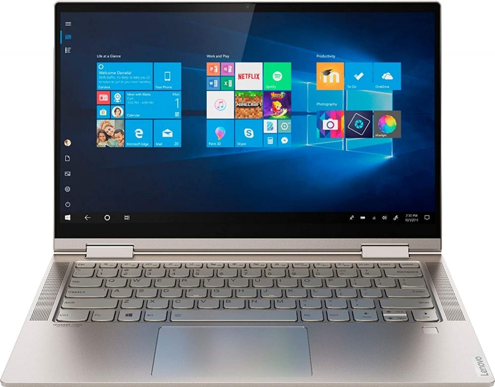 Yoga C740 laptop