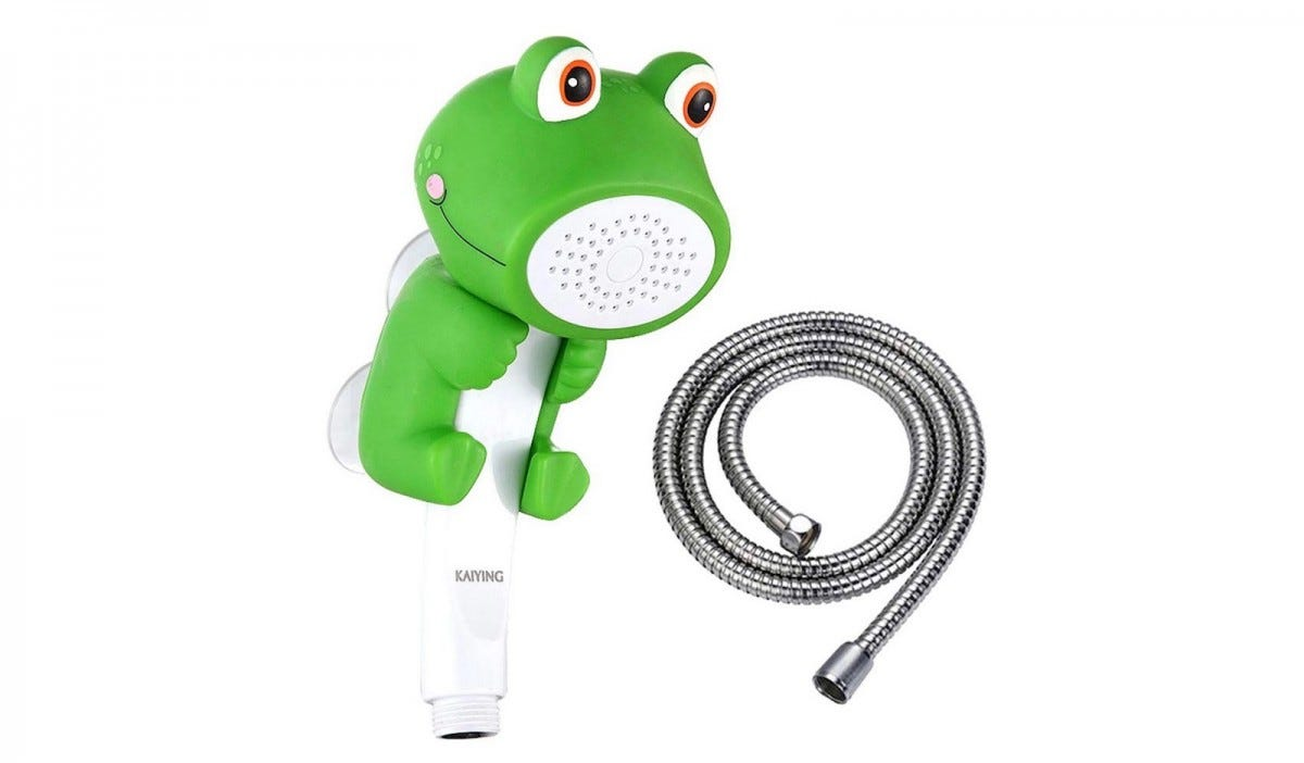 Kaiying Frog showerhead and hose.