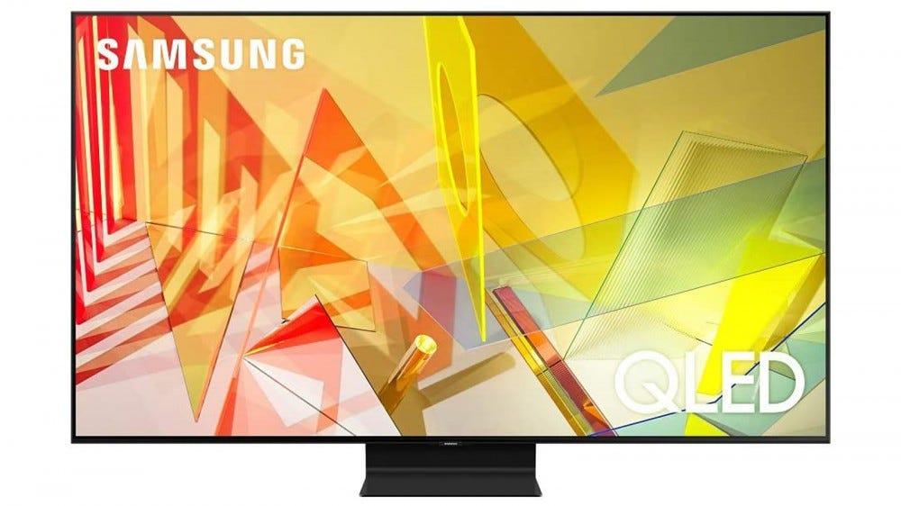 """Samsung - 65"""" Téléviseur intelligent Tizen UHD 4K QLED série Q90T"""