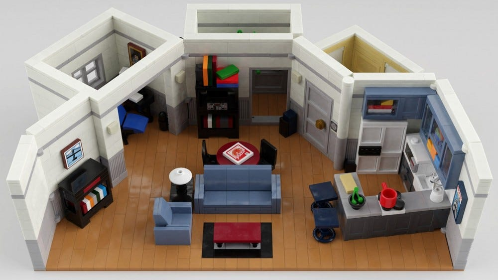LEGO Seinfeld apartment