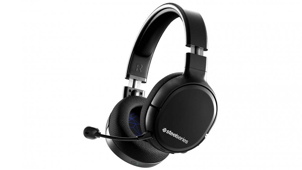 A photo of the SteelSeries Arctis 1 gaming headphones.