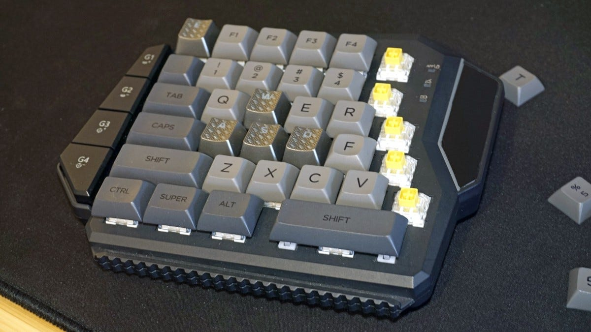 Modified GameSir keypad.