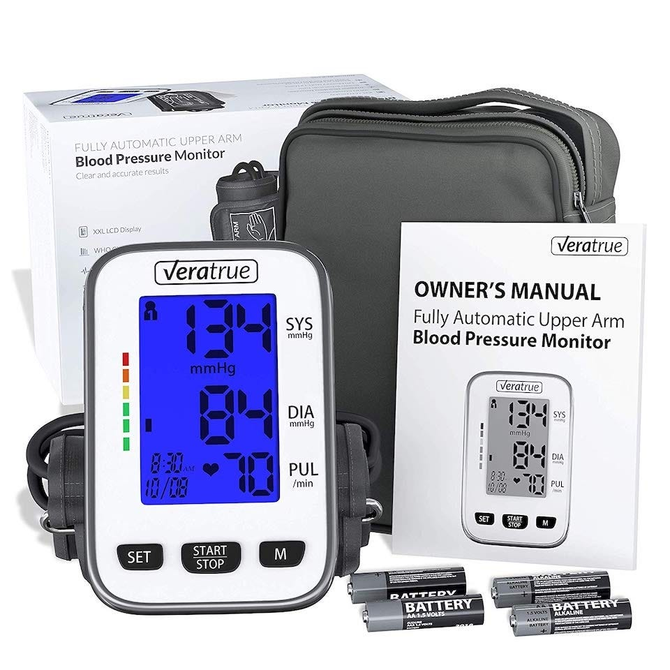 Veratrue Upper Arm Blood Pressure Monitor