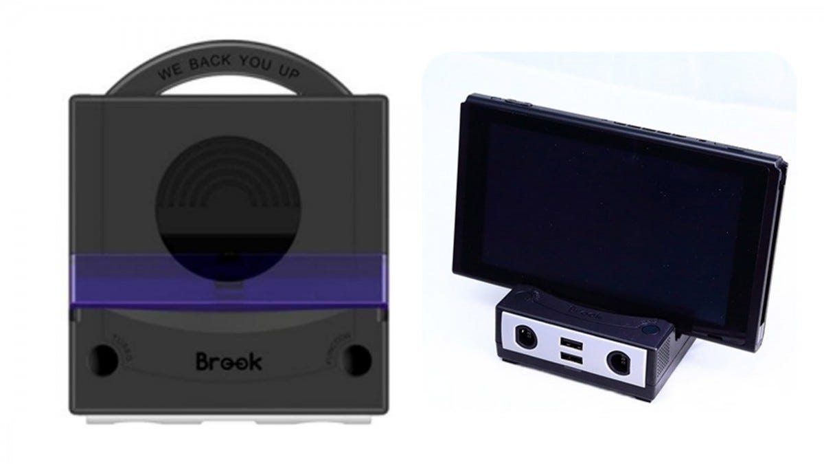 Gamecube dock for Nintendo Switch