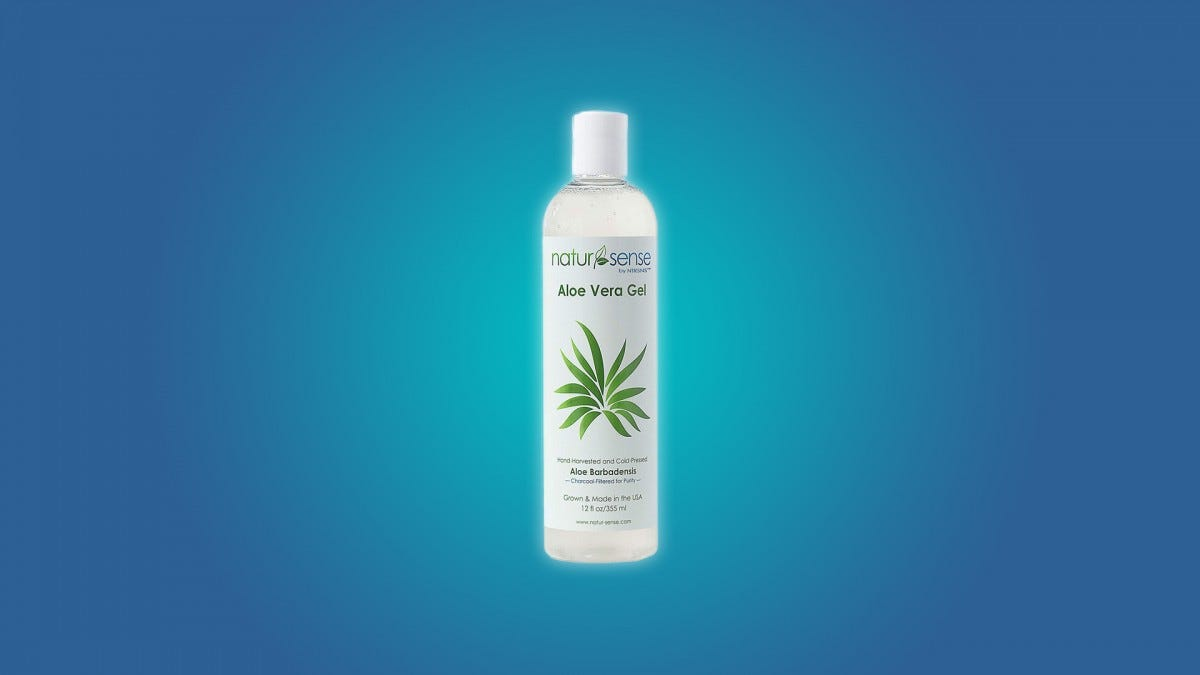 The NaturSense Organic Aloe Gel