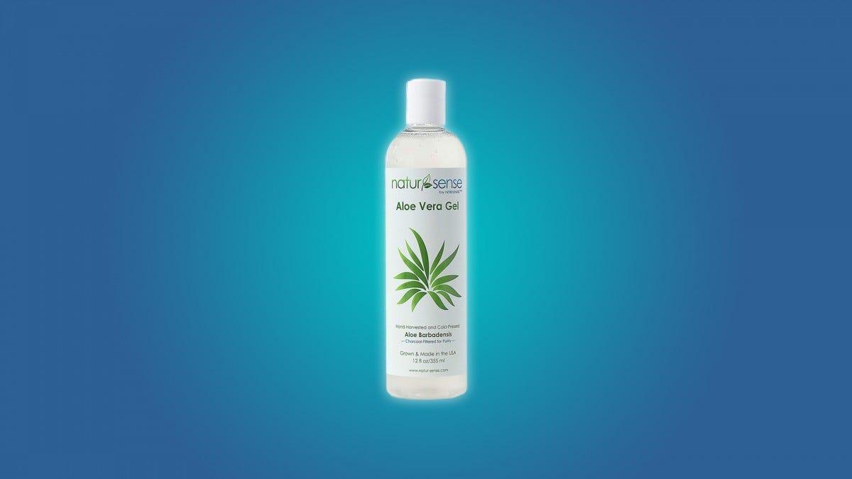 The NaturSense Organic Aloe Gel