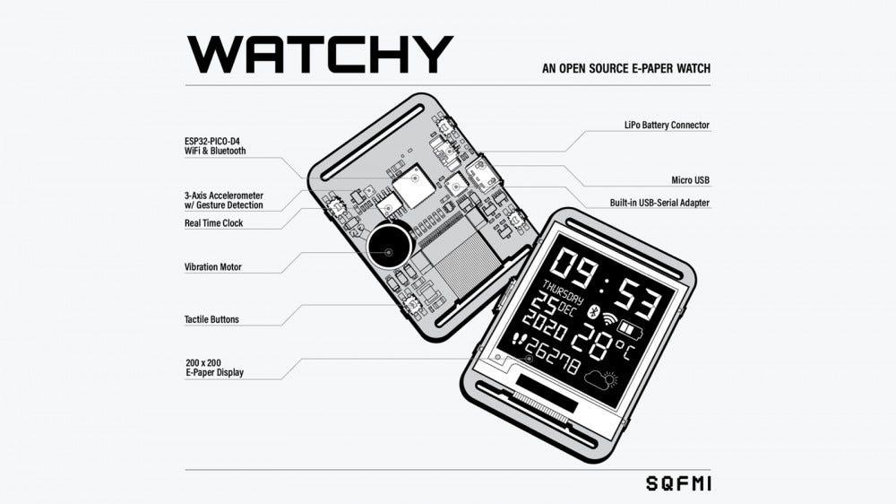 Watchy's schematic