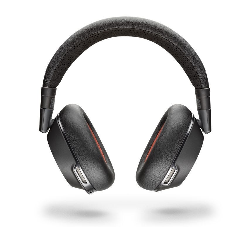 Plantronics Voyager 8200 UC noise canceling headphones