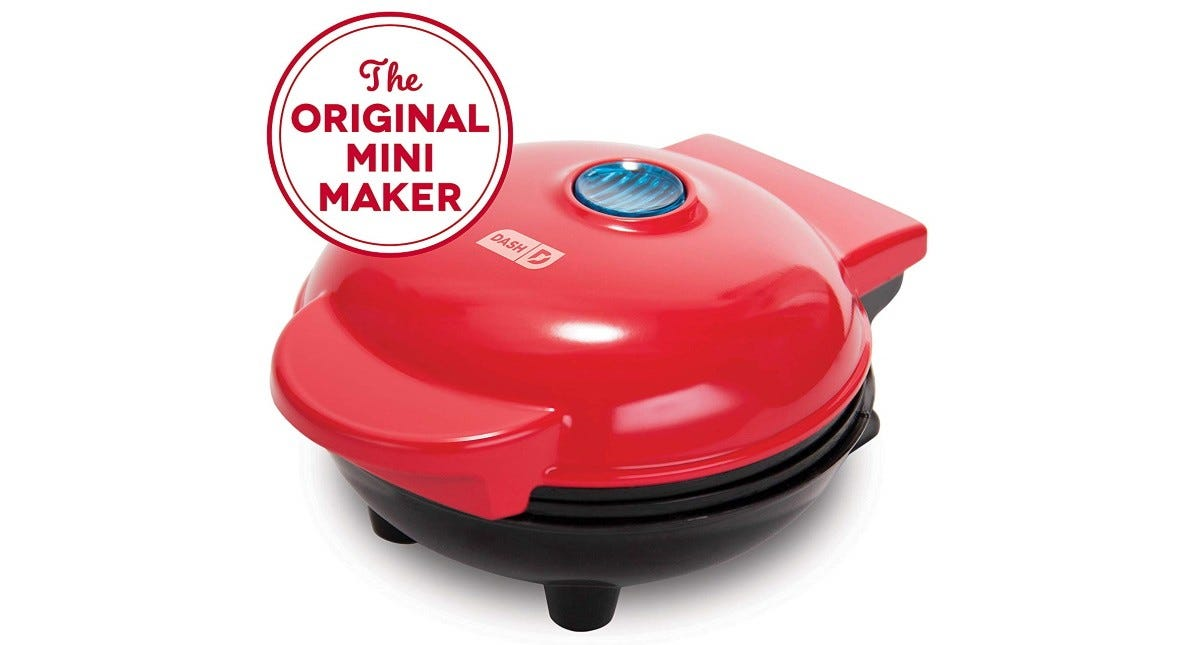 The Dash Mini-Maker Waffle Machine.