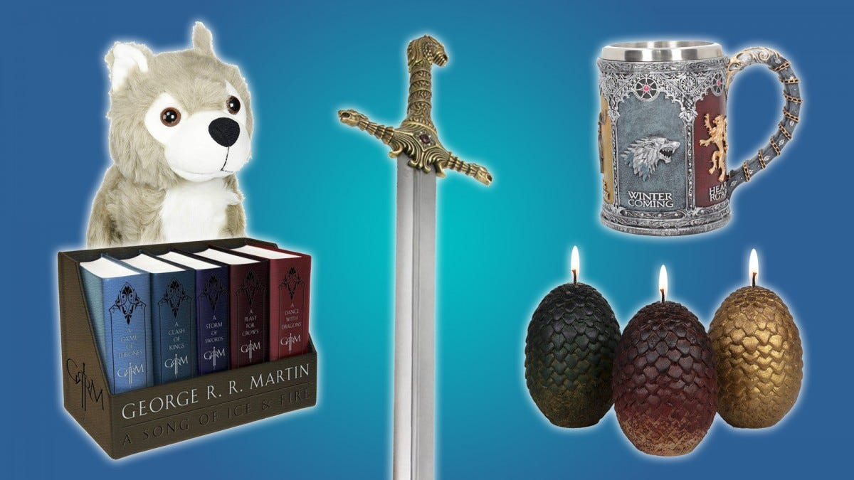 Here's a selection of gifts for the ultimate Game of Thrones fan.