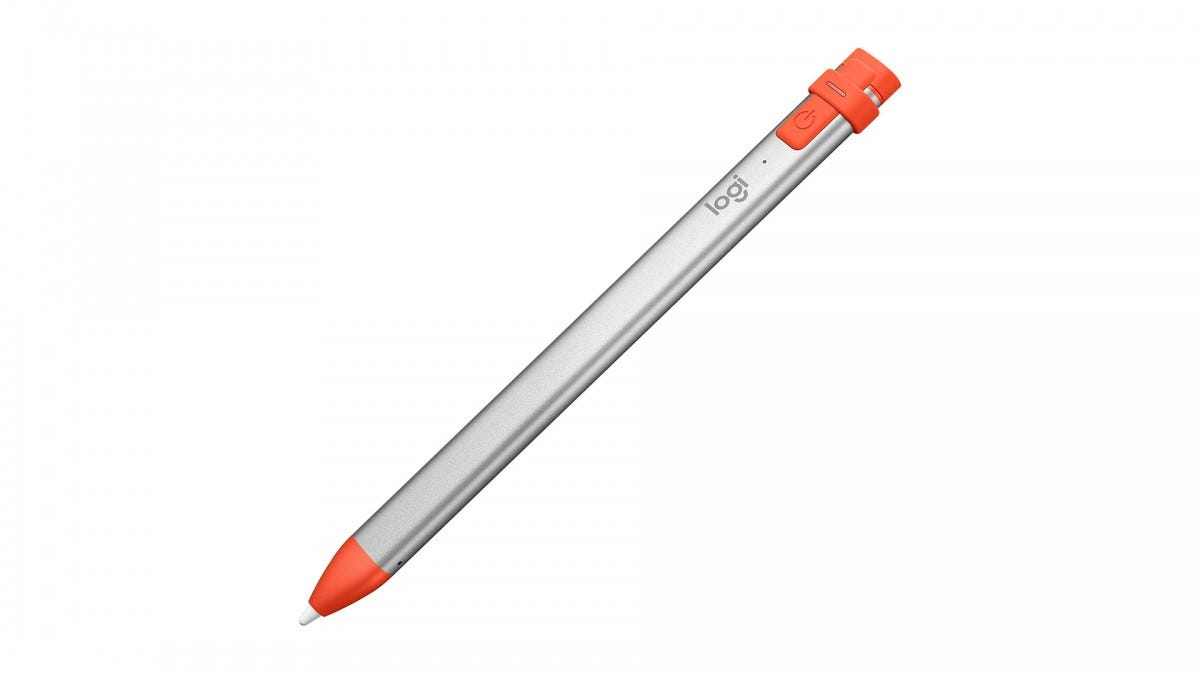 A photo of the Logitech Crayon.