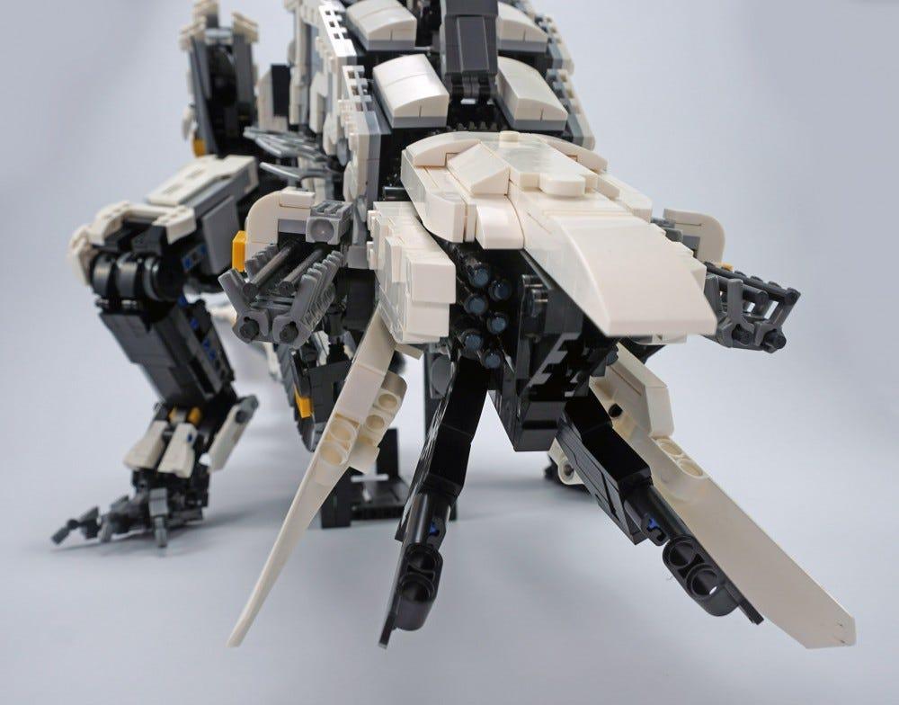 LEGO Thunderjaw head