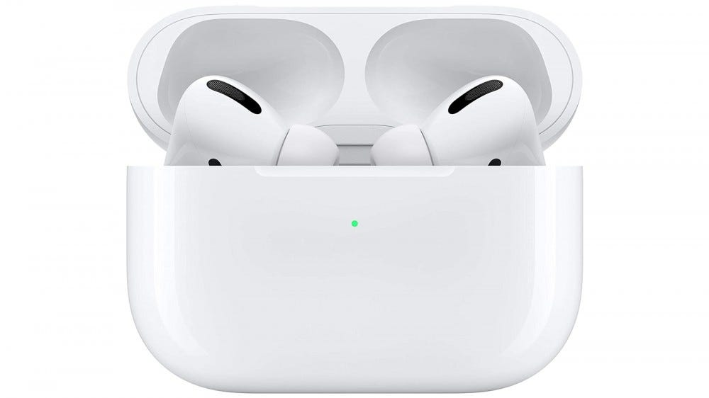 AirPods Pro in wireless charging case