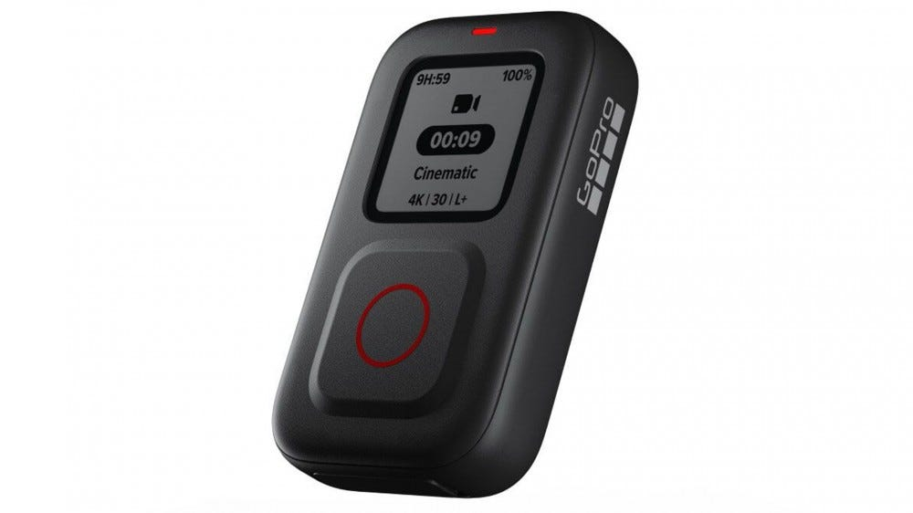 A photo of the new GoPro Remote.