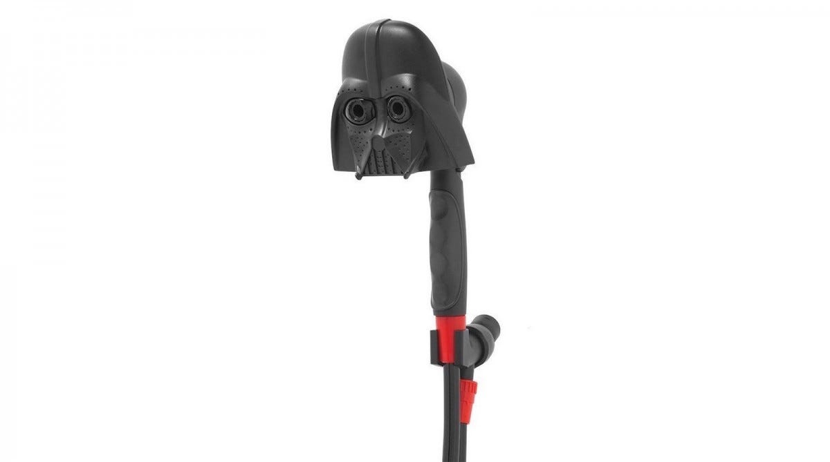 Oxygenics Darth Vader shower head.