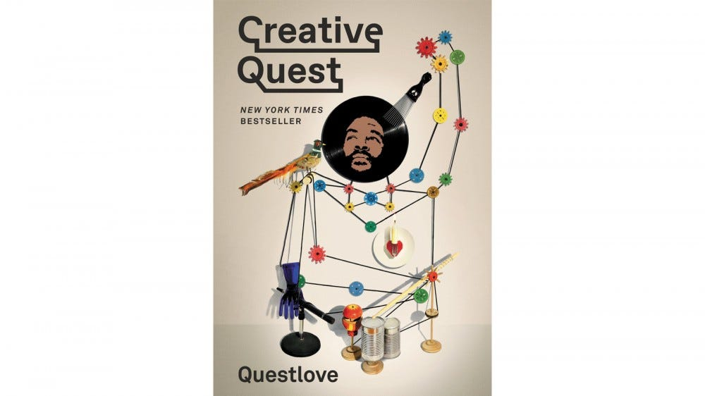 Creative Quest book cover by Questlove