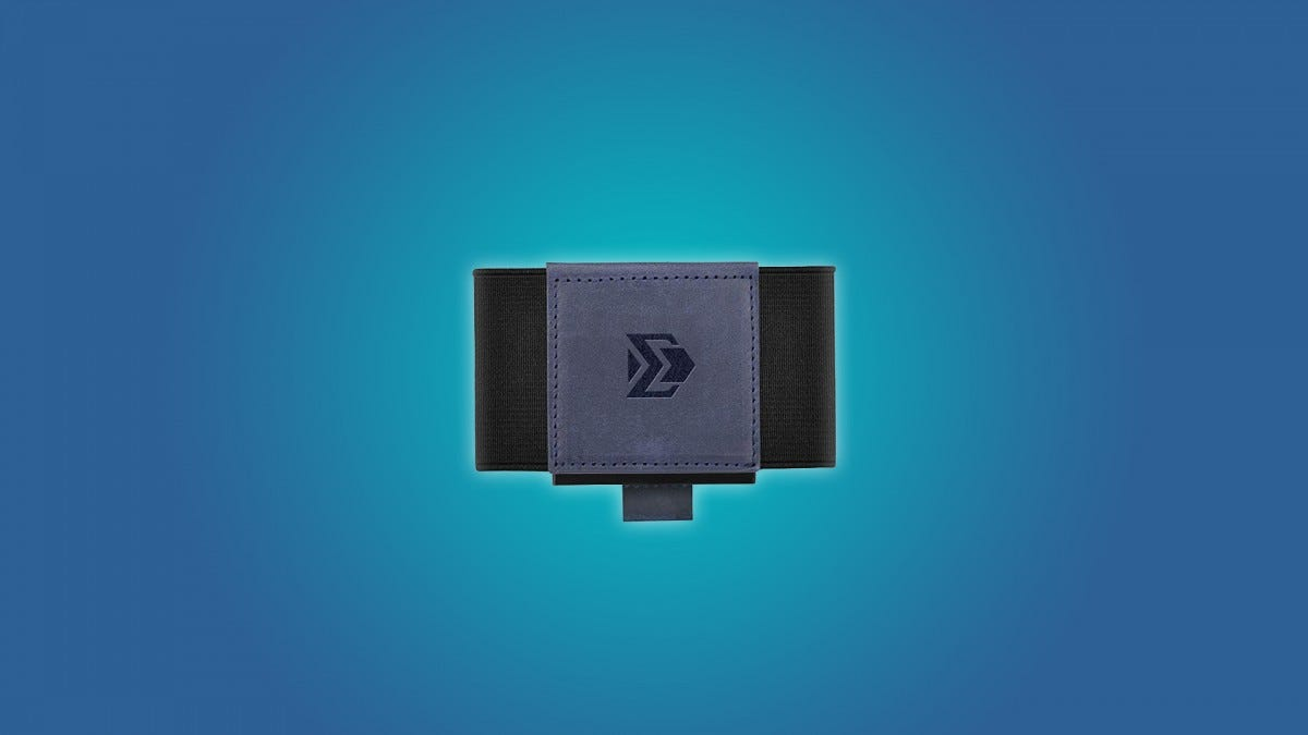 The VBAX Elastic Slim Wallet