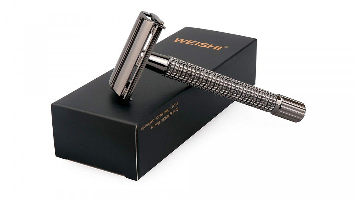 The WEISHI safety razor.
