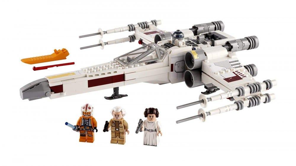 LEGO Star Wars Luke Skywalker's X-Wing set