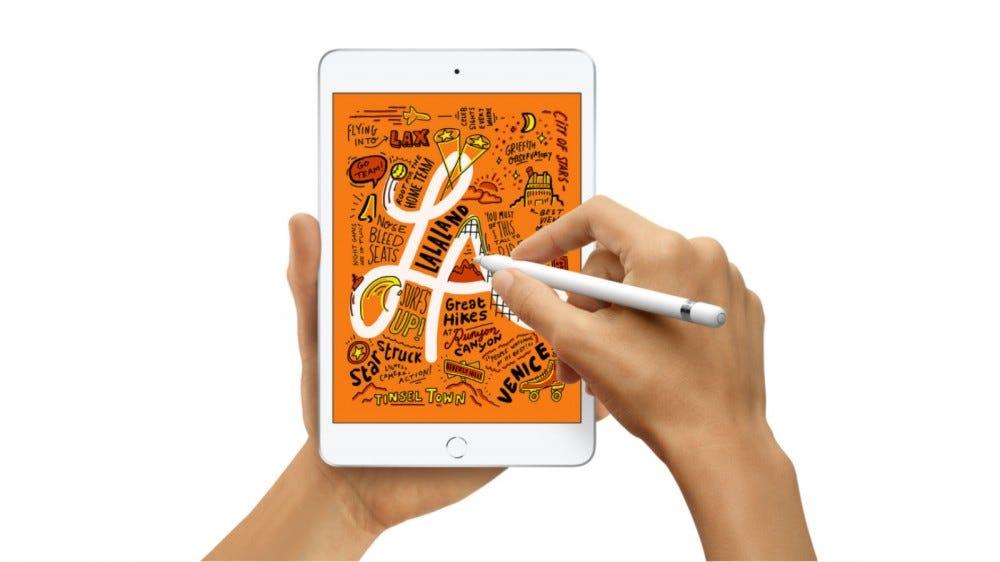 Draw on iPad with Apple Pencil