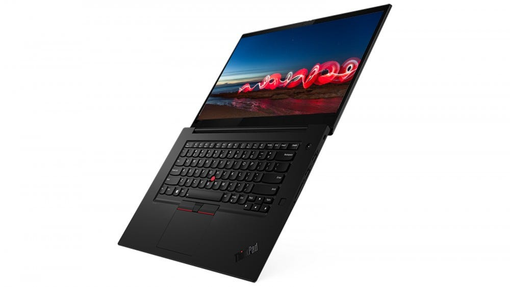 Lenovo ThinkPad X1 Extreme Gen 3 fully extended laid flat