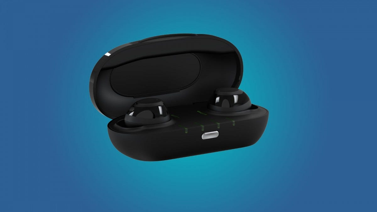 Nuhear IQbuds Boost in a case
