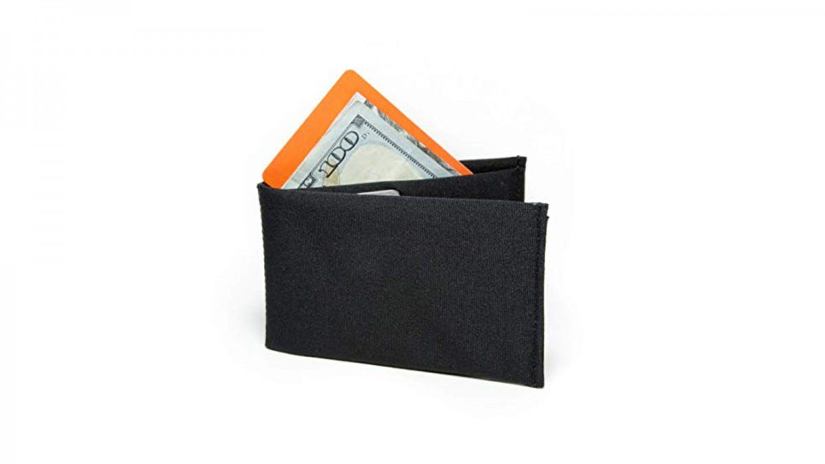 SlimFold Minimalist Wallet - RFID Option - Thin, Durable, and Waterproof Guaranteed - Made in USA - Nano Size