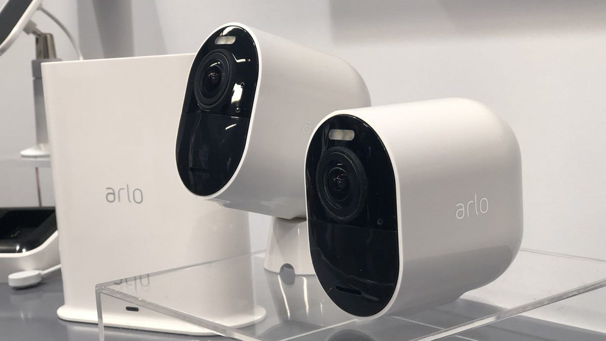 Arlo Ultra battery-powered camera