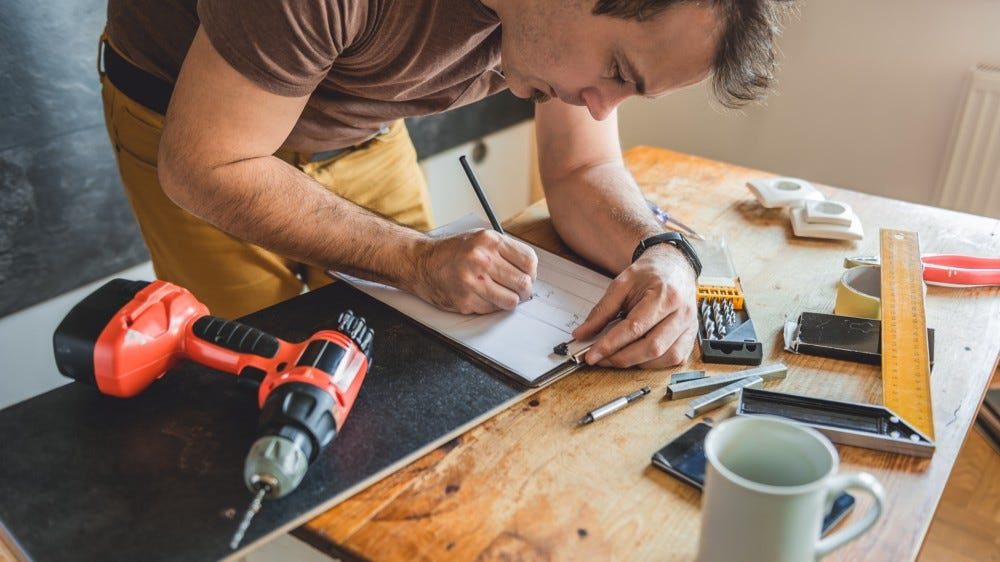 DIY Home Improvement draft plan best home repair apps