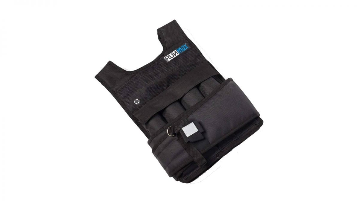 RUNmax Pro Adjustable Weighted Vest
