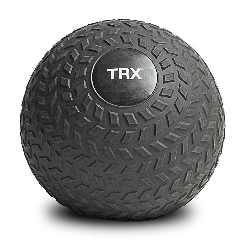 The TRX Slam Ball can handle some serious abuse and comes in various weights.