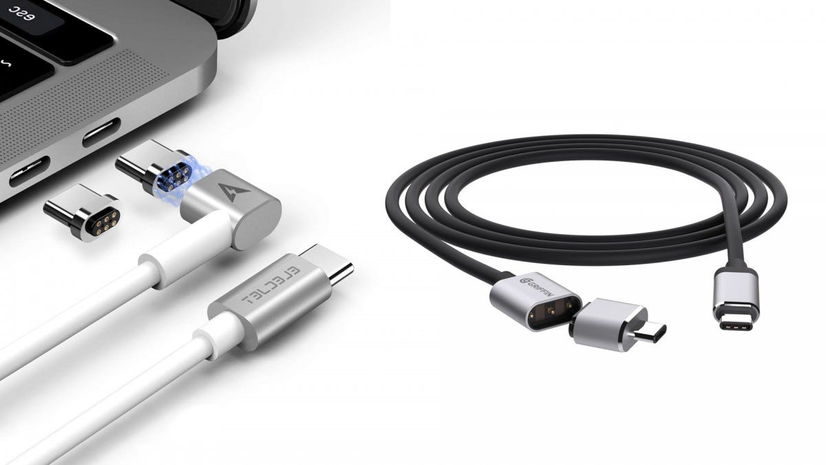 The Elecjet and Griffin breakaway cables.