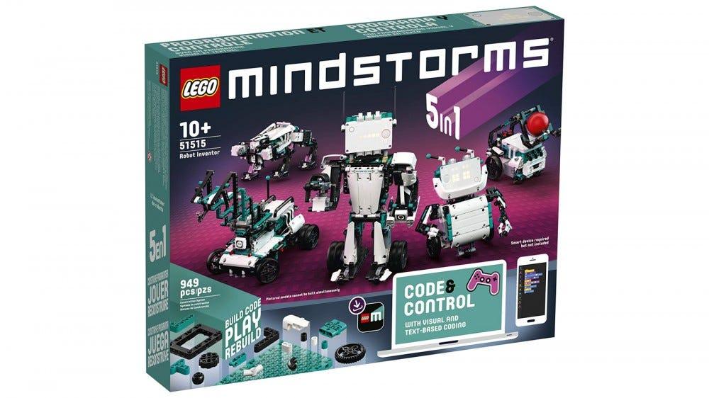 LEGO Mindstorms Robot feltaláló épület szett doboz