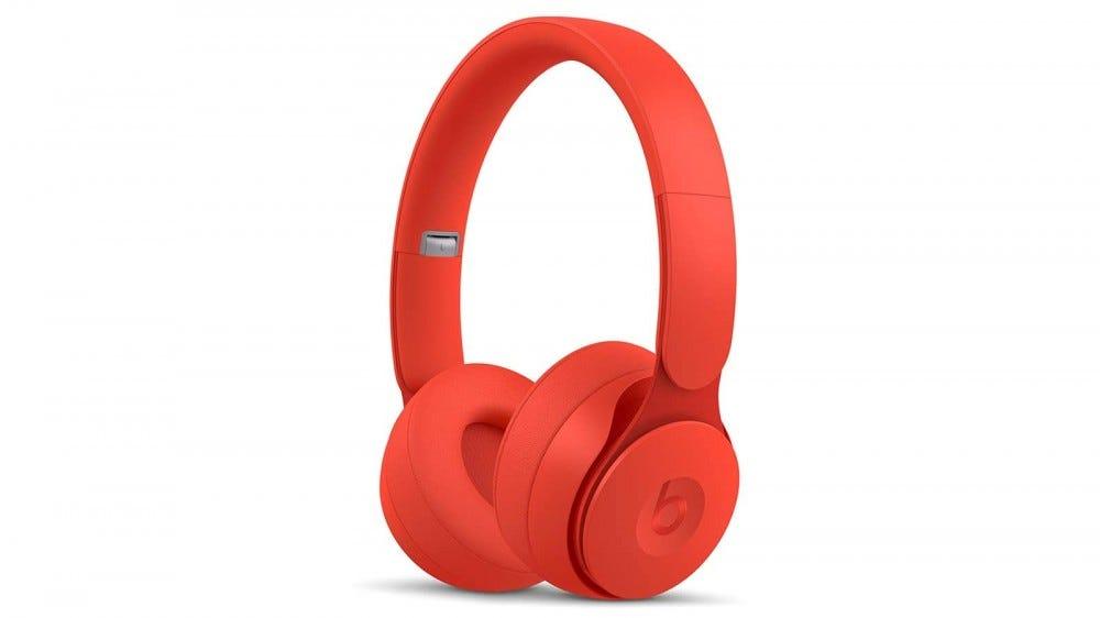 A photo of the Beats Solo Pro headphones.
