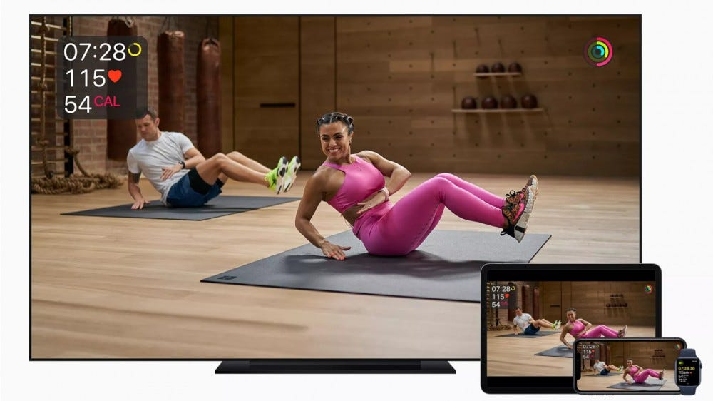 Apple Fitness+ on iPhone, iPad, and Apple TV