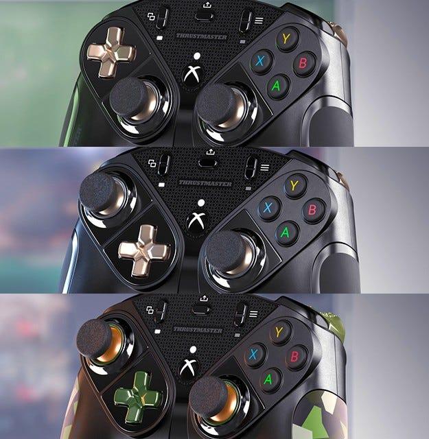 Thrustmaster eSwap X Pro different configurations