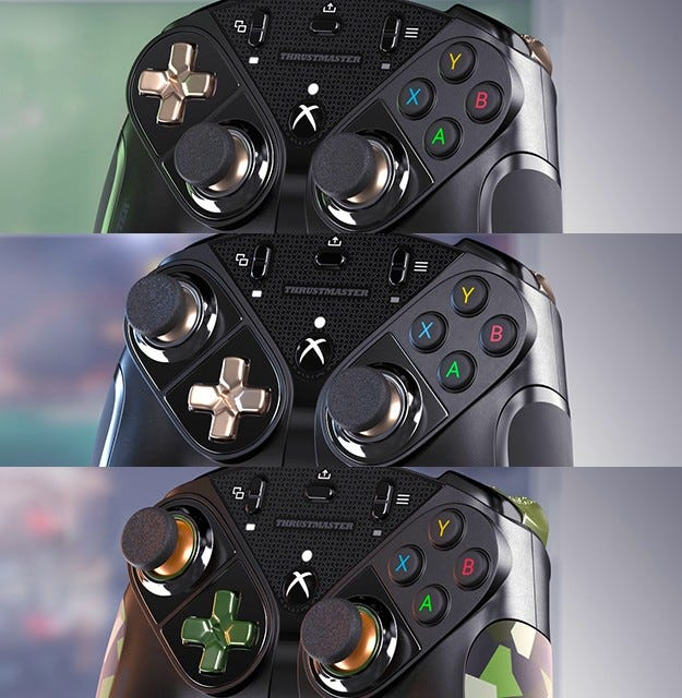 Thrustmaster eSwap X Pro different configurations