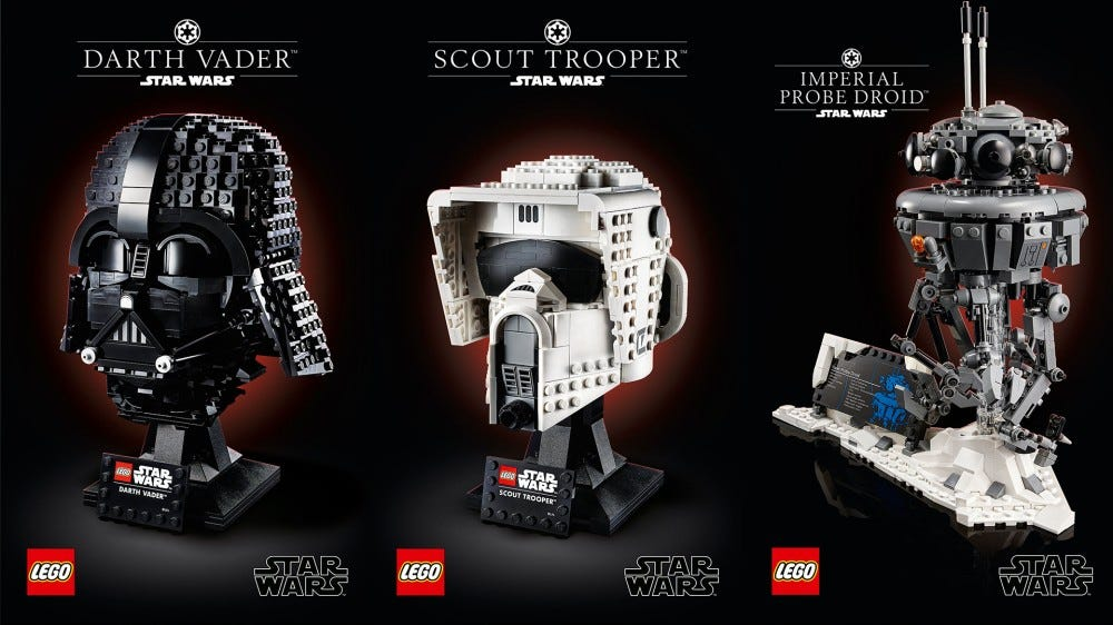 Three new official LEGO Star Wars sets