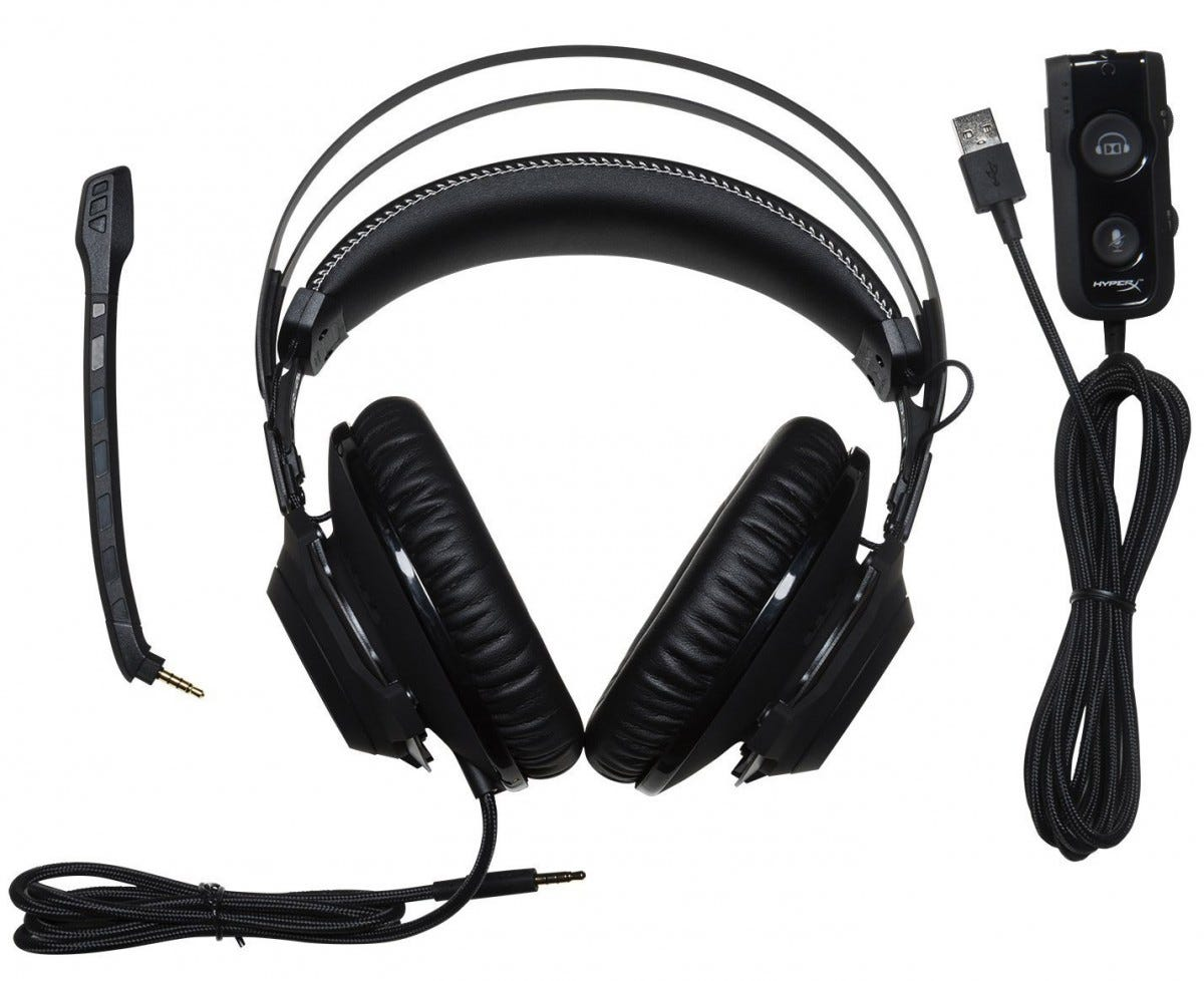 Hyperx, pc gaming, pc headset, revolver s,