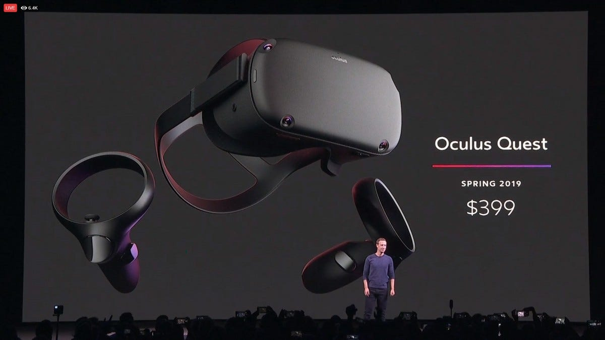 The Oculus Quest Is a Standalone, 6 Degree-of-Freedom VR