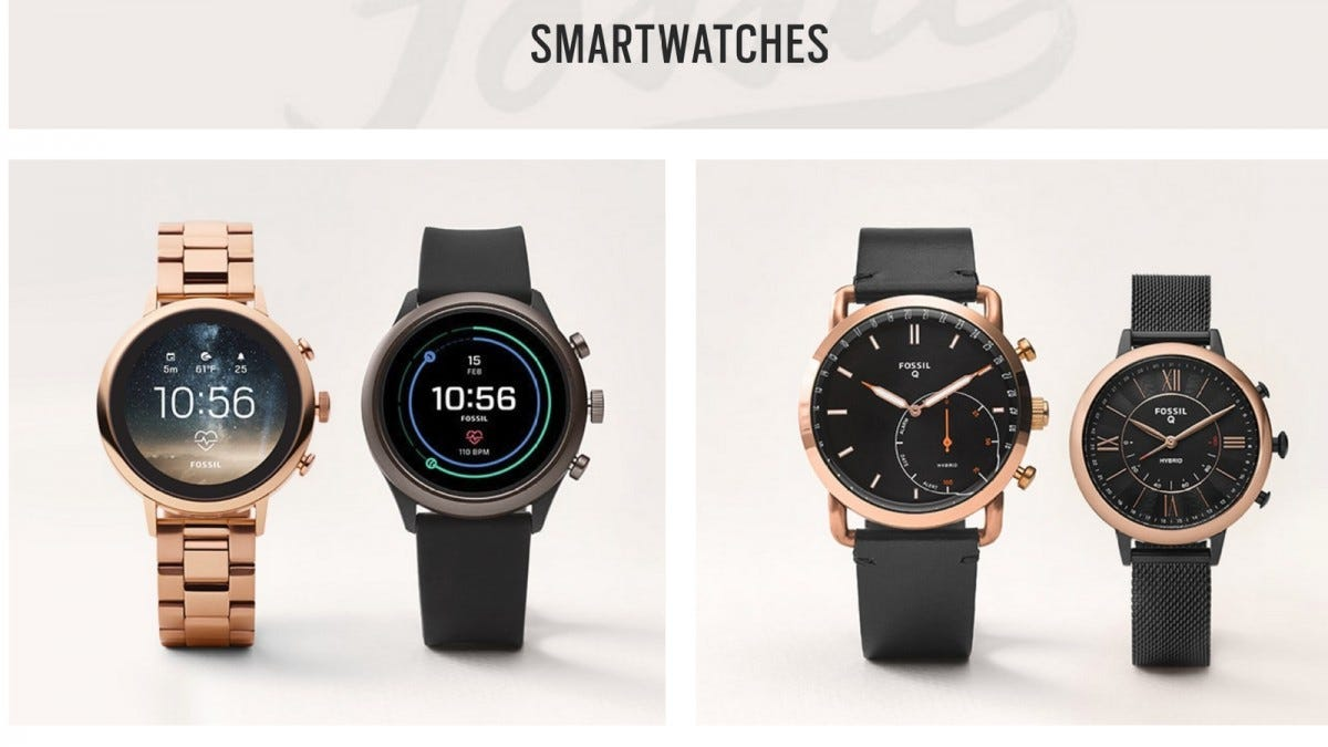 Google is Going to Buy Fossil's Smartwatch Tech for $40